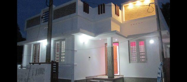 2BHK 650 Sqft house in 2.5 Cents at Kochal near Koonamavu - 28 Lakhs (Negotiable)
