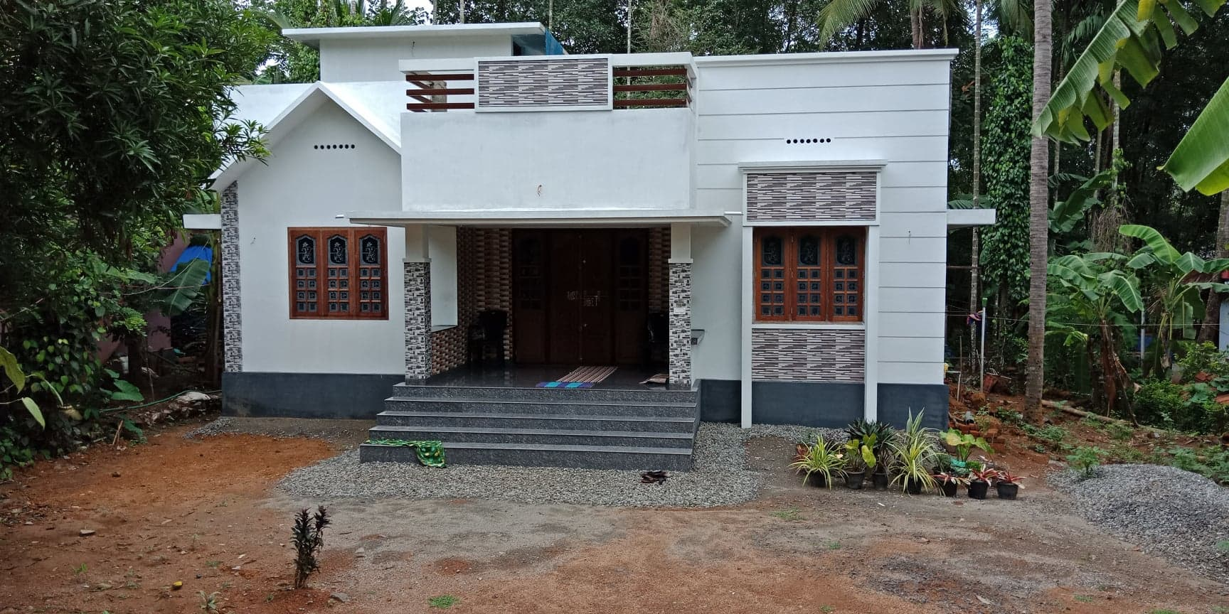 1100 Square Feet 3 Bedroom Single Floor Low Budget Home Design and Plan