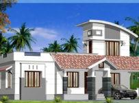 1200 Square Feet 2 Bedroom Single Floor Budget Home Design