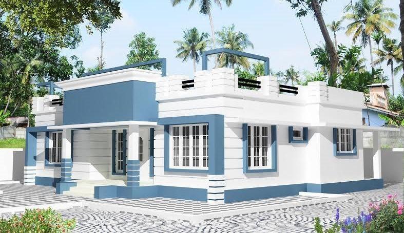 1207 Square Feet 3 Bedroom Single Floor Amazing Home Design and Plan