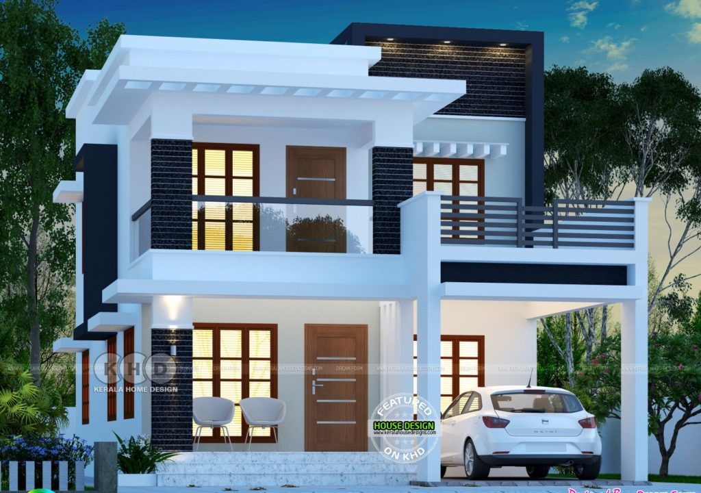 1755 Square Feet 3 Bedroom Double Floor Contemporary Modern