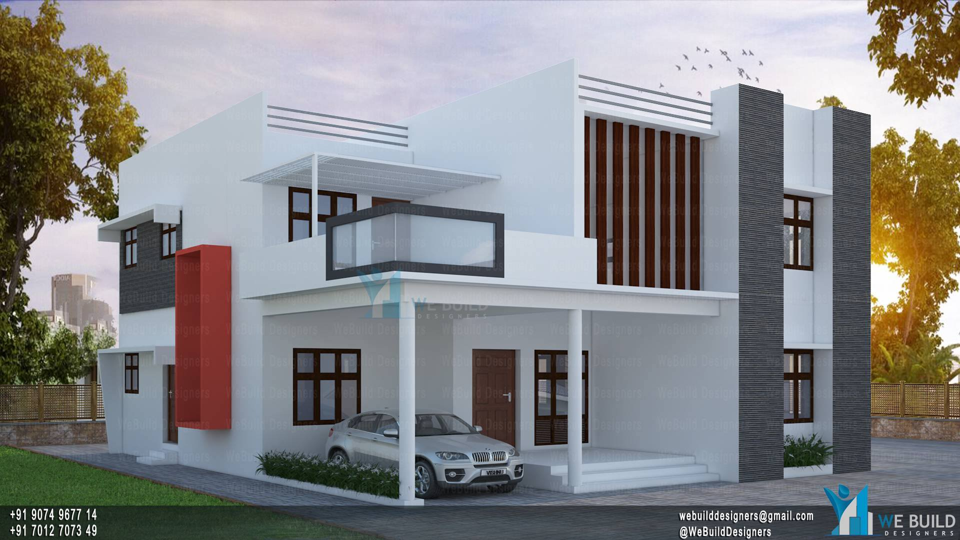 2400 Square Feet 4 Bedroom Renovated Modern Home Design