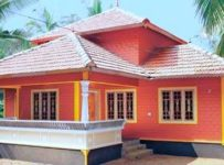 643 Square Feet 3 Bedroom Low Budget Traditional Style Home Design and Plan