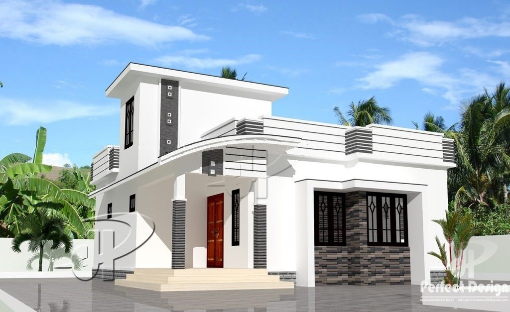 753 Square Feet 2 Bedroom Single Floor Low Budget Home Design And Plan