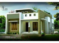 770 Square Feet 2 Bedroom Single Floor Low Budget Beautiful Home Design