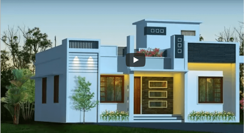 Single Floor Modern Homes Designs and Plans