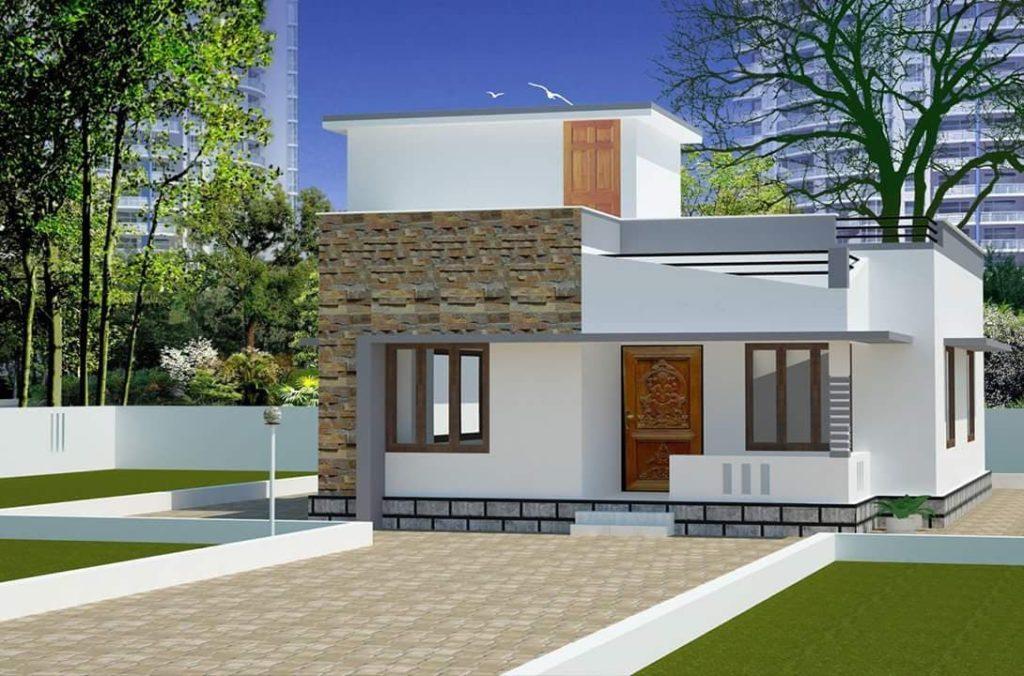 750 Square Feet 2 Bedroom Single Floor Low Budget Home Design