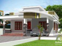 957 Square Feet 2 Bedroom New Modern Home Design and Plan