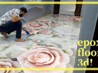How To Install Epoxy 3D Floor
