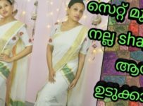 set saree wearing
