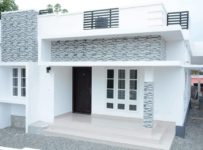 1000 Square Feet 3 Bedroom Low Budget Single Floor Modern Home Design