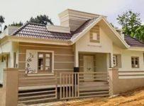 1122 Square Feet 3 Bedroom Single Floor Modern Home Design and Plan