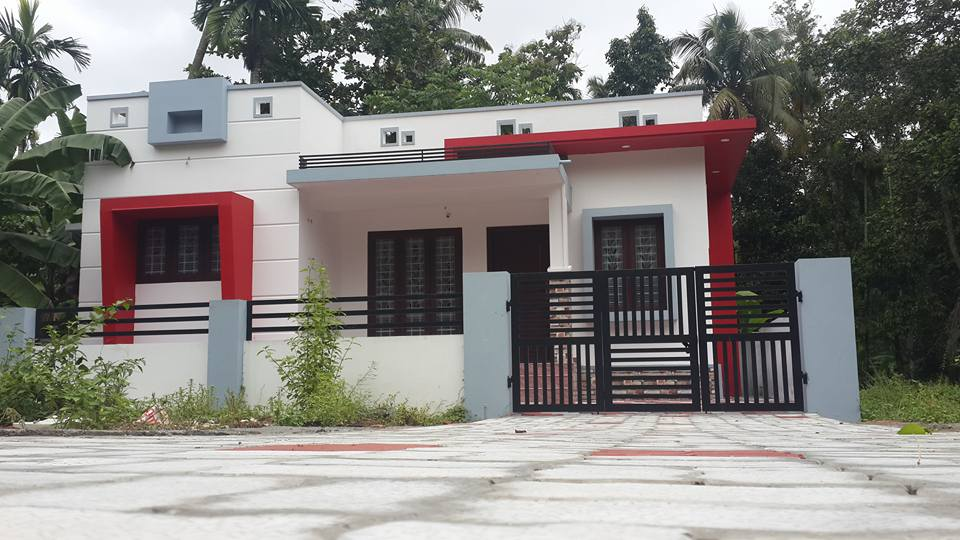 1133 Square Feet 3 Bedroom Single Floor Modern House with Plan