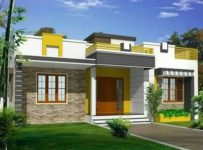 832 Square Feet 2 Bedroom Single Floor Budget home Design and Plan