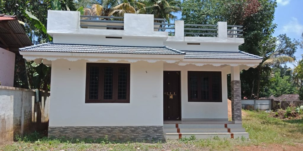 882 Square Feet 3 Bedroom Low Budget Single Floor House Design and Plan
