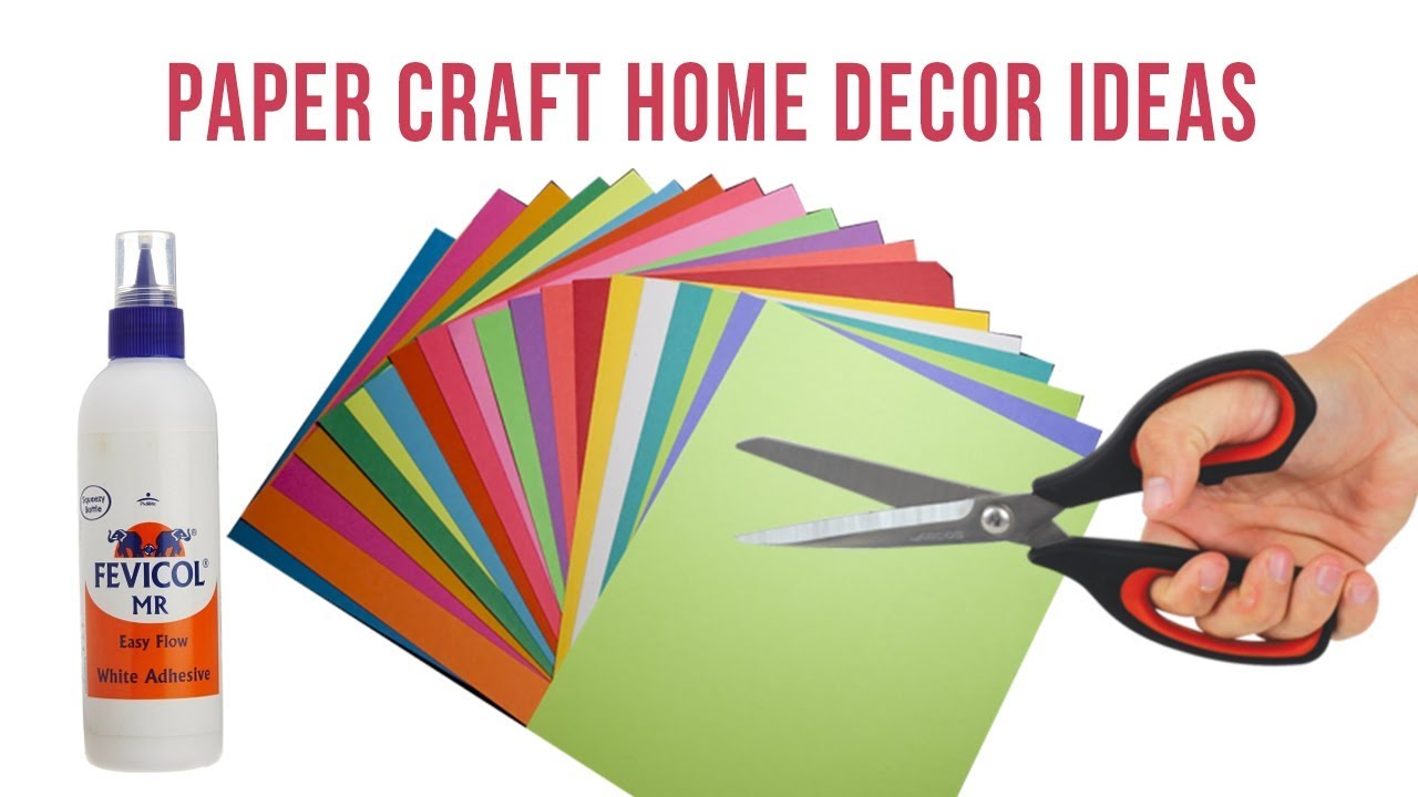 Home Decoration Idea With Paper Home Pictures Easy Tips