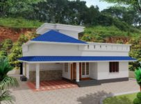1035 Square Feet 3 Bedroom Single Floor Beautiful House with Plan