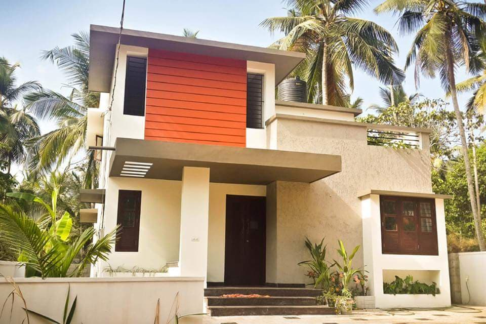 1200 Square Feet 4 Bedroom Contemporary Modern Budget Two ...