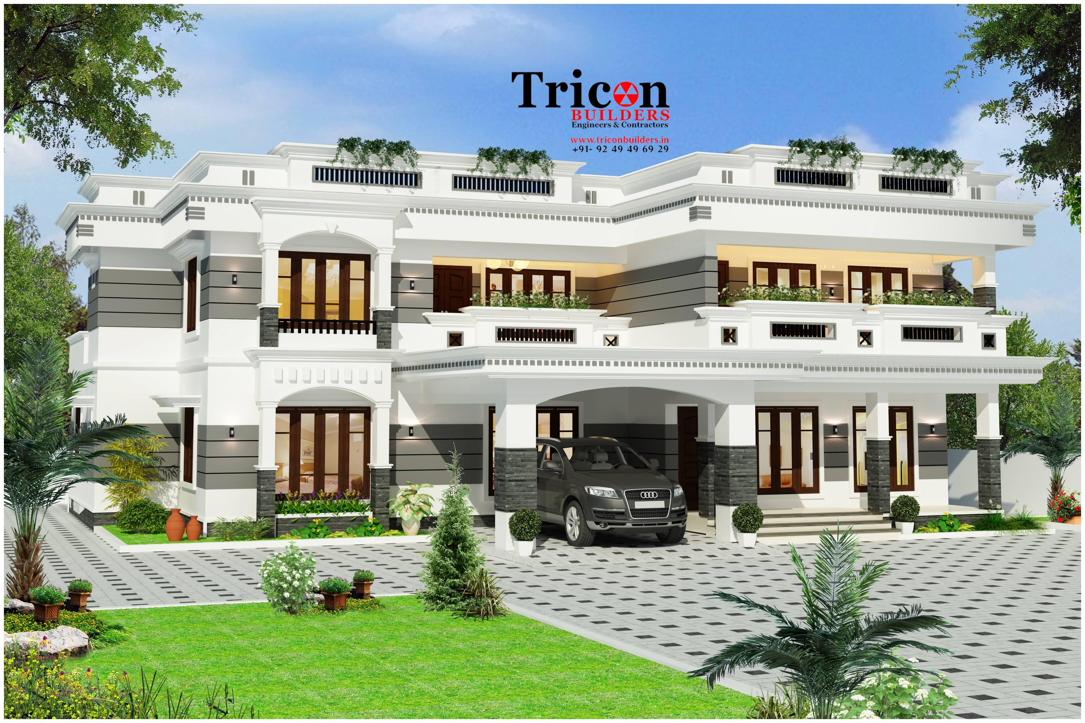 3353 Square Feet - 6 Bedroom Beautiful Luxury Villa