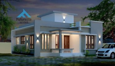 775 Square Feet 2 Bedroom Single Floor Modern Budget Home Design and Plan
