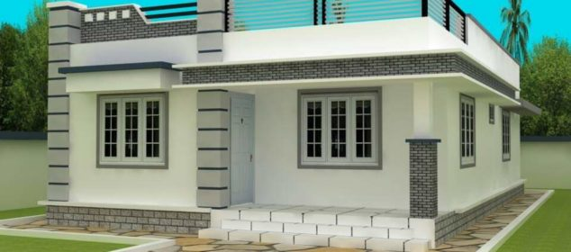 700 Square Feet 2 Bedroom Single Floor Budget Home Design and Plan