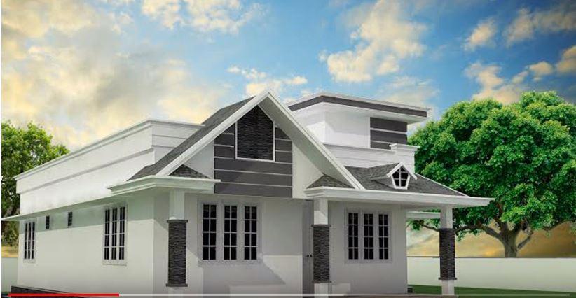 Low Budget Single Floor Homes Design