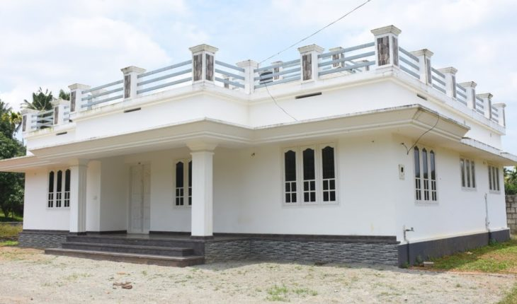 8 Cent Plot and 1500 Square Feet 3 bhk Single Floor House For Sale