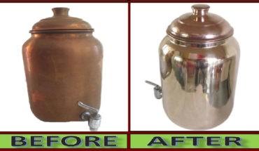 Clean Copper Vessels