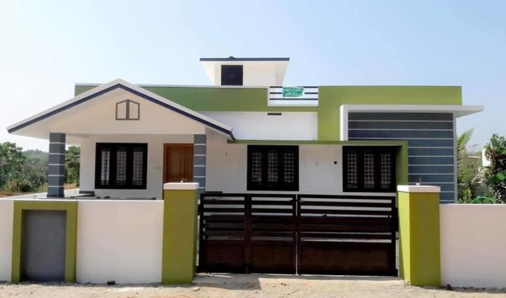 1000 Square Feet 2 Bedroom Single Floor Low Budget Modern