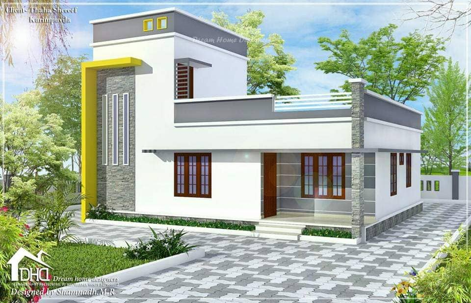 Do It Yourself Home Design: 1160 Square Feet 3 Bedroom Low Budget Simple And Beautiful