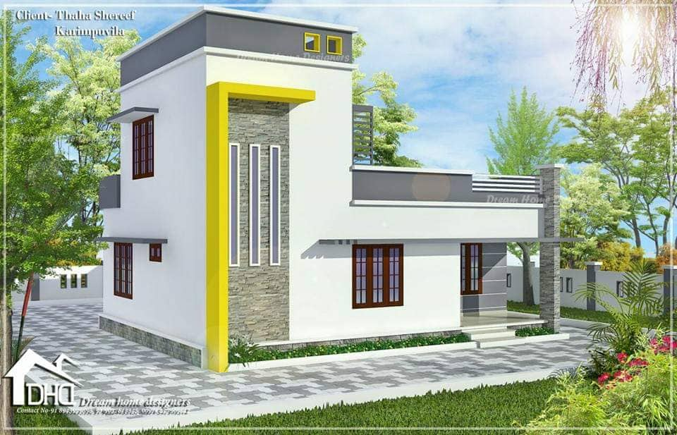 1160 Square Feet 3 Bedroom Low Budget Simple And Beautiful
