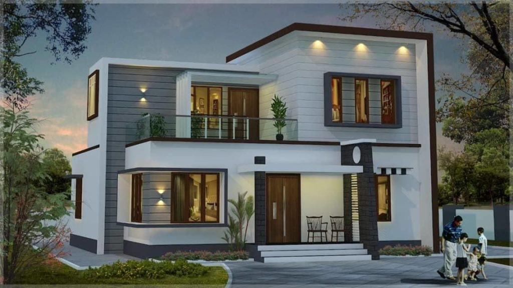 1500 Sq Ft 3 Bedroom Simple Contemporary Modern Budget ...