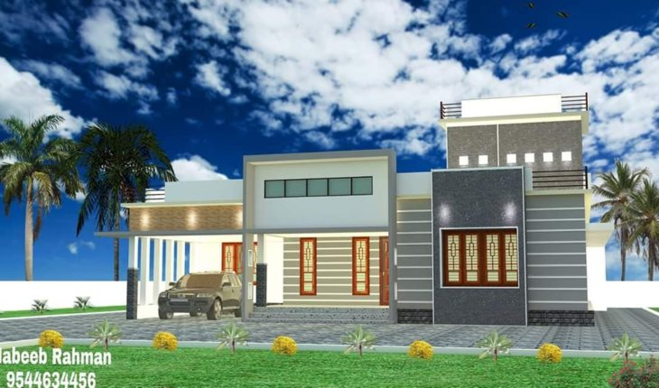1400 Square Feet 3 Bedroom Single Floor New Modern Beautiful Home