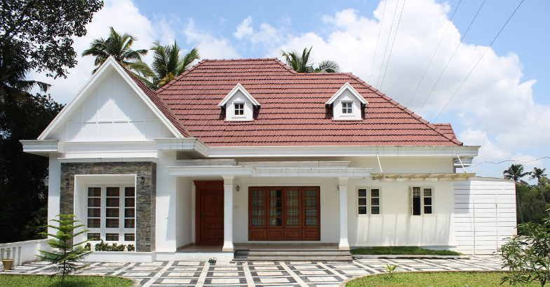 Photo of 2092 Square Feet Colonial and Traditional Style Double Floor 3 Bedroom Home and Plan