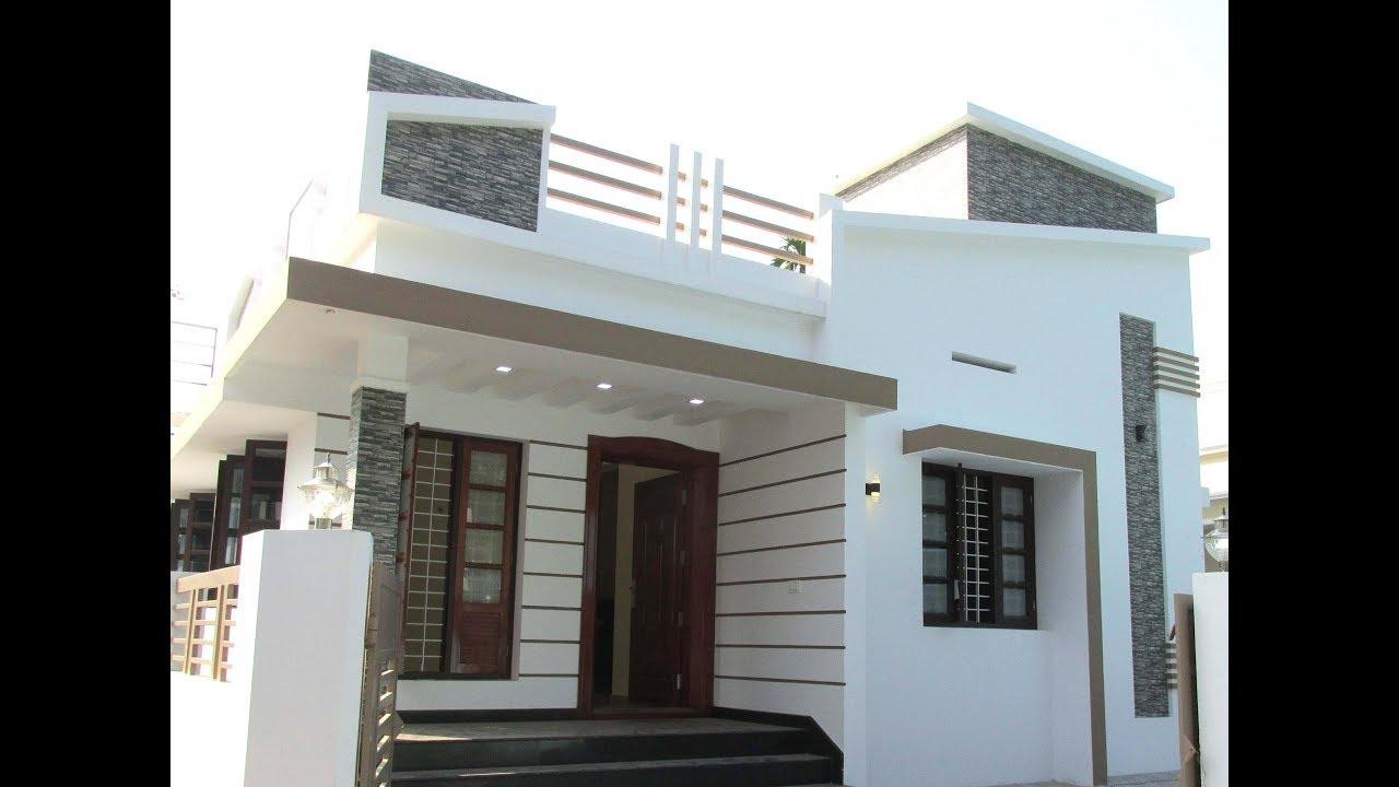 800 Square Feet 2 Bhk Single Floor Modern House At 3 3