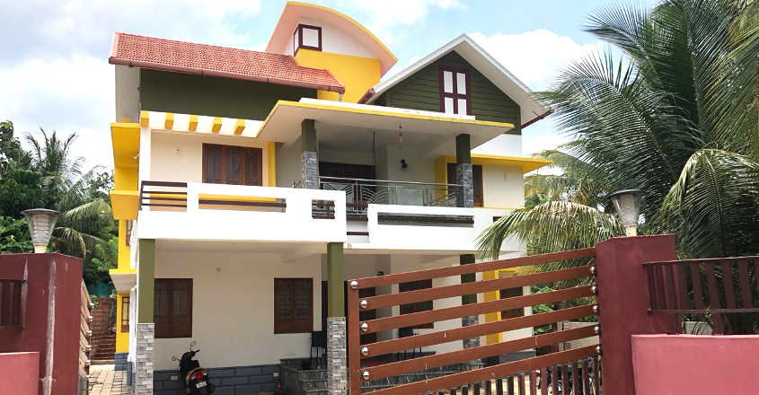 2900 sq ft 4 bedroom modern mixed roof two floor wonderful house