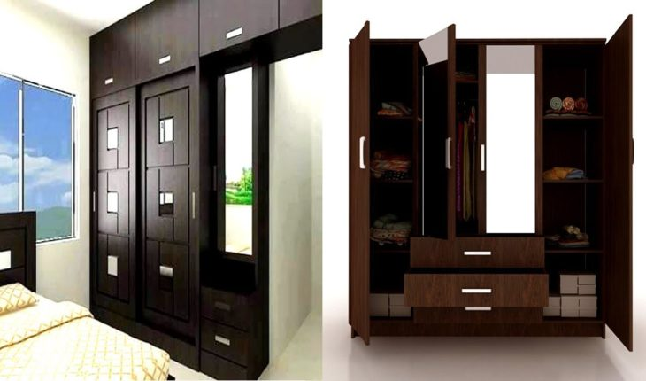 . Modern Bedroom Cupboards Design With Dressing Table   Home Pictures