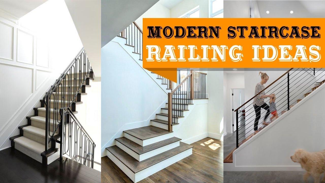 100+ modern staircase railing ideas