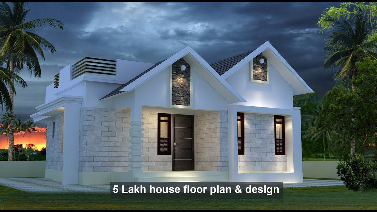 Square Feet Bedroom Single Floor Low Budget House And Plan For Lack Home Pictures