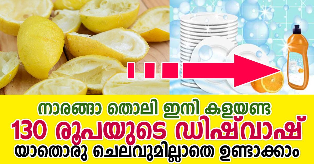 Photo of HOW TO MAKE DISHWASHER DETERGENT WITH LEMONS