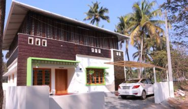 1100 sq ft 3 bedroom single floor modern contemporary style house and plan
