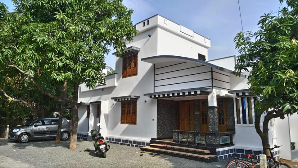 1300 sq ft 2 bedroom single floor modern and beautiful house and plan