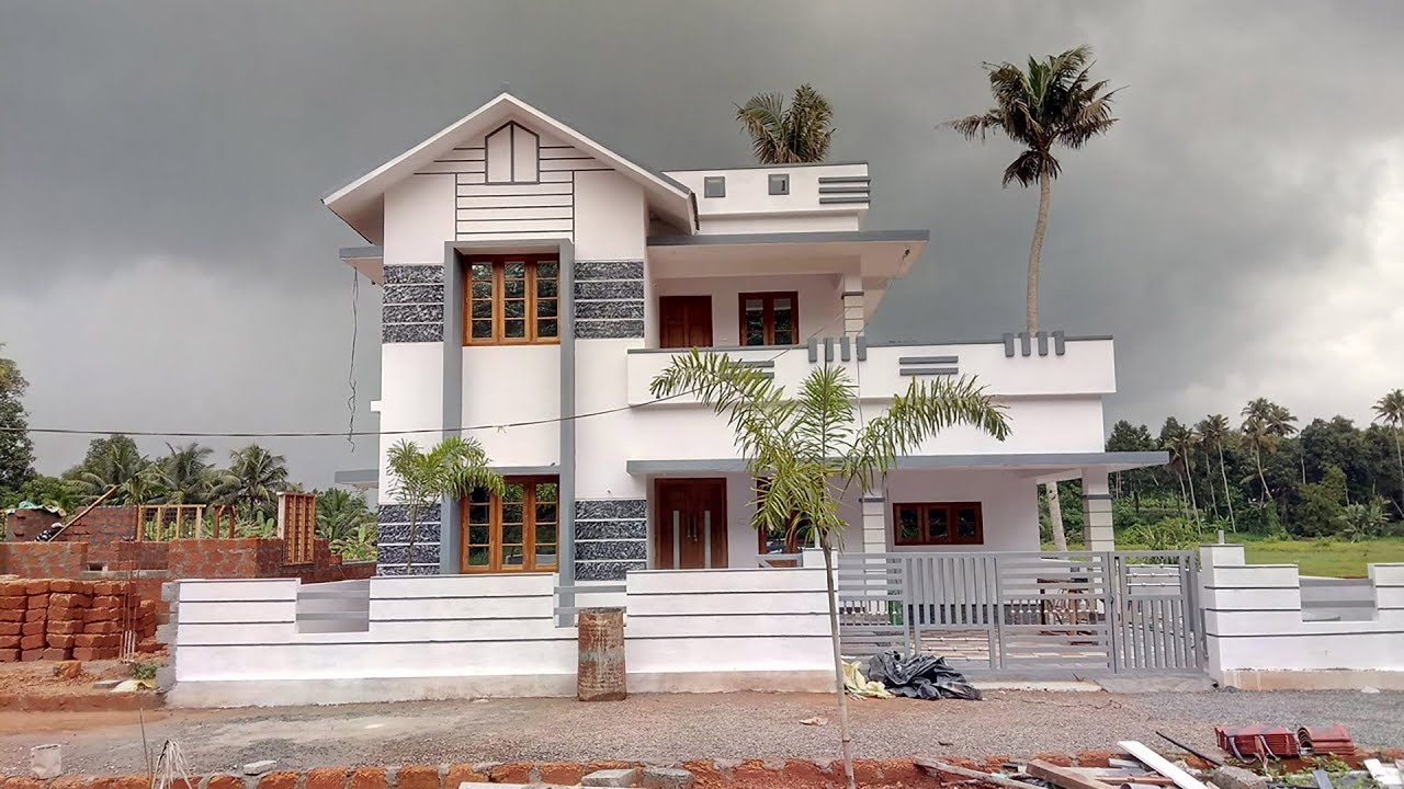 1900 sq ft 4 bedroom kerala style beautiful house at 6 cent plot