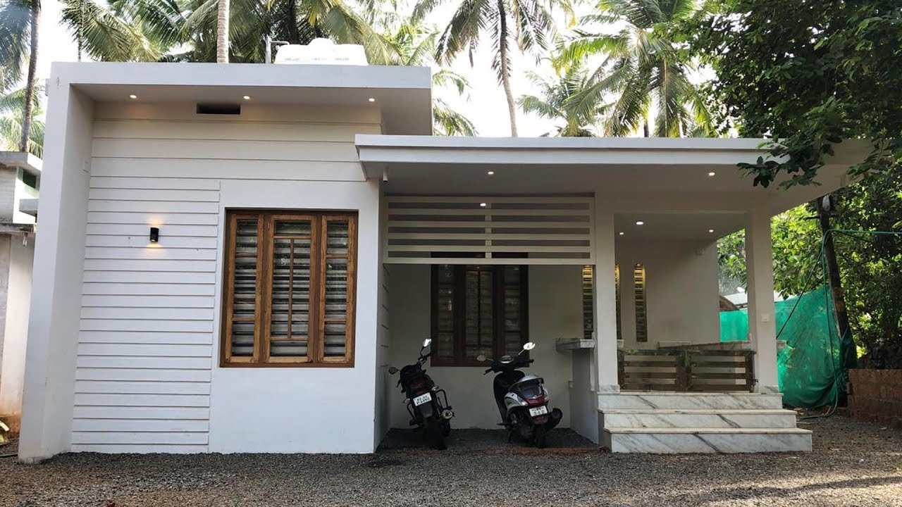 800 sq ft 2 bedroom single floor contemporary style beautiful house and interior