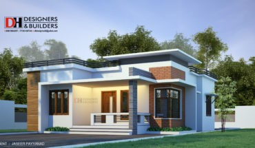 930 sq ft 2 bedroom single floor contemporary modern beautiful house