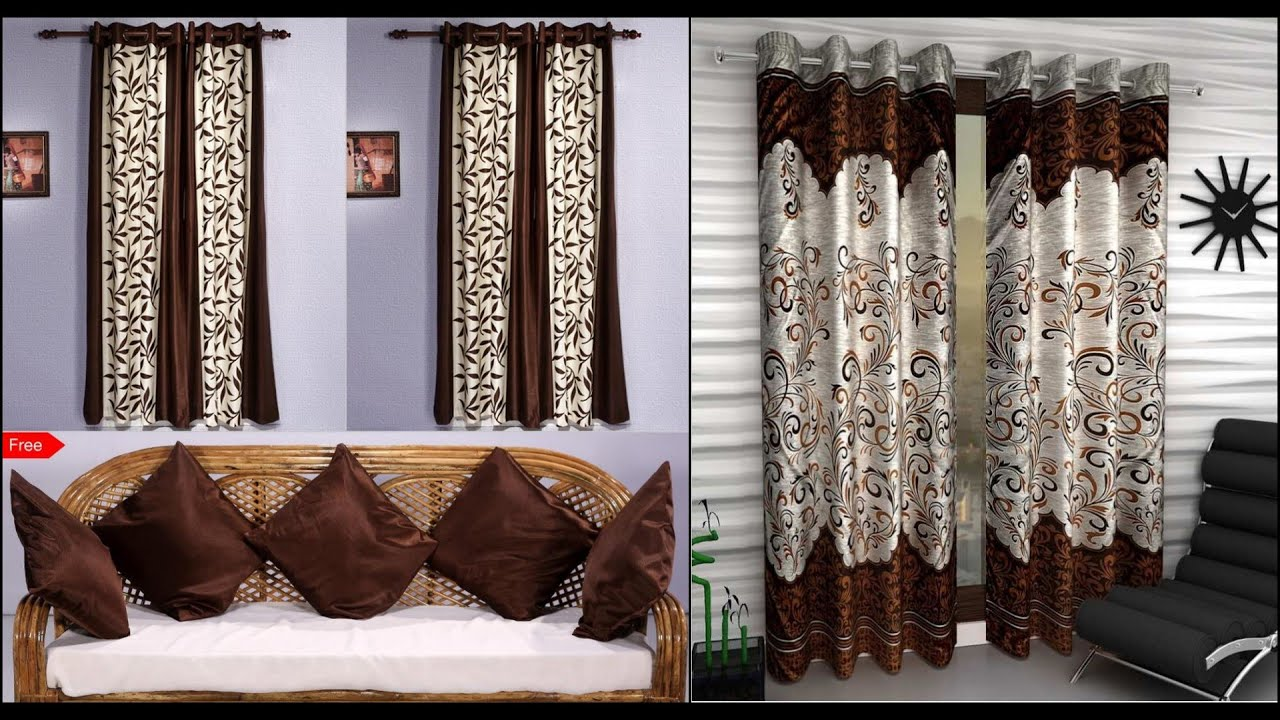 Latest modern low cost curtain design for living room and bedrooms