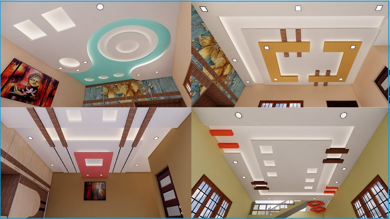 latest false ceiling designs for hall and bedrooms