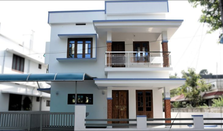 1362 Square Feet 3 Bedroom Kerala Style Simple Model House