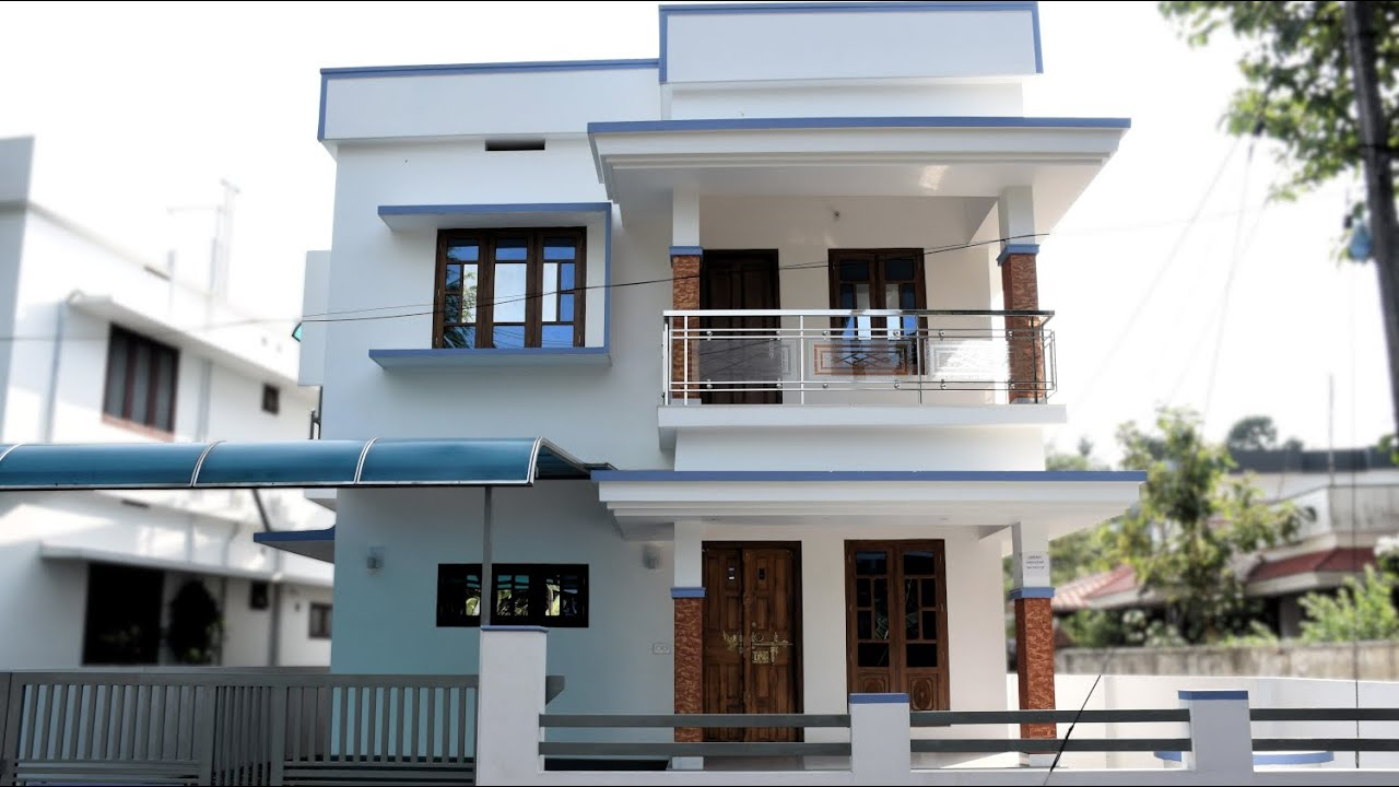 1362 sq ft 3 bedroom kerala style simple model house in 3.5 cent plot