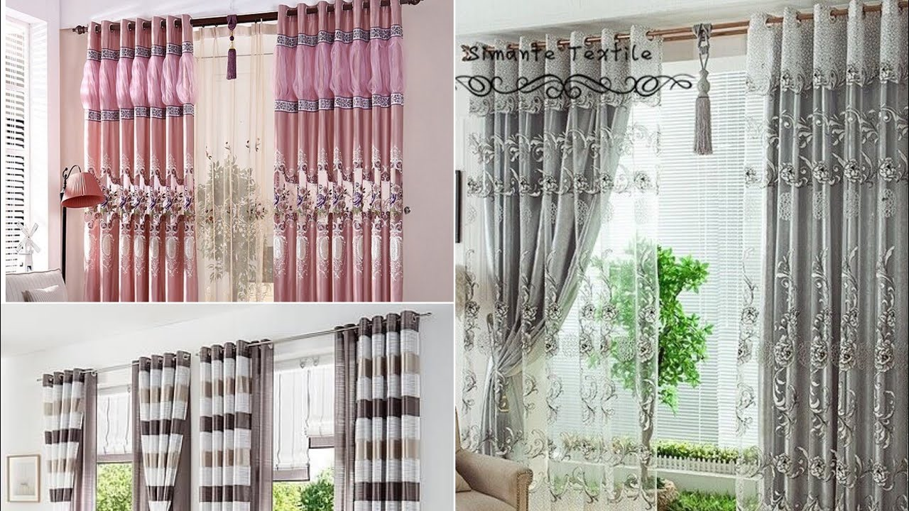 high quality luxury curtain for living and bedroom design ideas